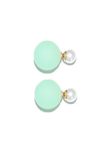 Bethine double sided Green Earrings